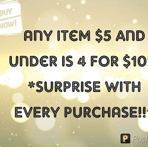 Tops - 4 FOR $10!!!